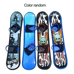 Outdoor Sports 95CM Plastic Freestyle Single Board Two-way Snow Grass Sand Board for Children & Adults