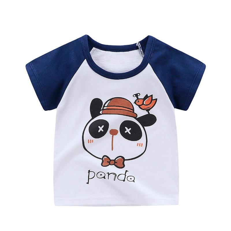 Hot Sale Girls Baby T-shirts 2019 High Quality Fashion Kids T-shirts Lovely Casual O-neck Short Sleeve 100% Cotton Kids T-shirt