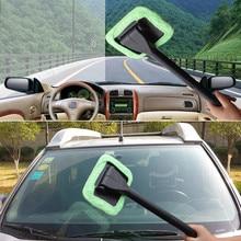 1х автомобильный Стайлинг портативное микрофибровое лобовое стекло легкое Очищение окон Очистка Дома или автомобиля чистящие инструменты автомобильные аксессуары авто щетка