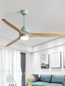 BOTIMI, 220 в, реверсивный вентилятор, 52 дюйма, светодиодный потолочный вентилятор с подсветкой для гостиной, вентиляторный вентилятор для спаль...