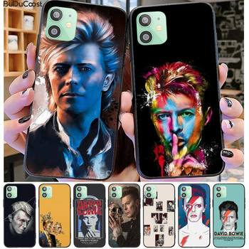 David Bowie Phone Case For iphone 12 pro max 11 pro XS MAX 8 7 6 6S Plus X 5S SE 2020 XR case image