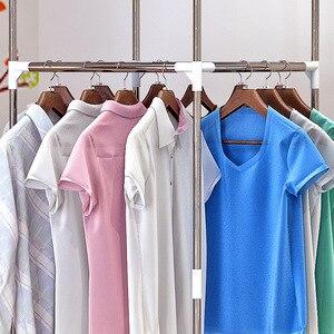 Image 4 - GIANTEX Clothes Hanger Coat Rack Floor Hanger Storage Wardrobe Clothing Drying Racks Porte Manteau Kledingrek Perchero De Pie
