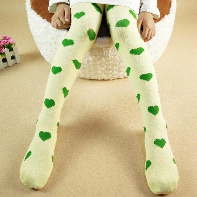 Baby Tights Cotton Cute Heart Baby Girl Tights Clothes Spring Autumn Newborn Girls Pantyhose Kids Children Stockings