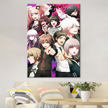 Canvas Wall Art HD Print Home Decoration 1 Piece Danganronpa Painting Animation Poster For Living Room Modular Picture Framework