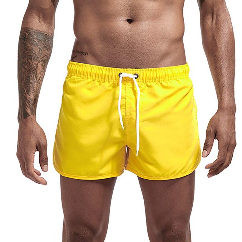 Men Swimwear Swimsuit Swimming Trunks Mens Swim Briefs Maillot De Bain Homme Bathing Suit Surf Beach Wear Man Board Shorts