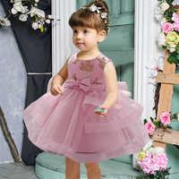 Vestido de Ceremonia de primer cumpleaños para niña pequeña, ropa de princesa con lentejuelas, vestido de bautismo, fiesta de boda, 2021