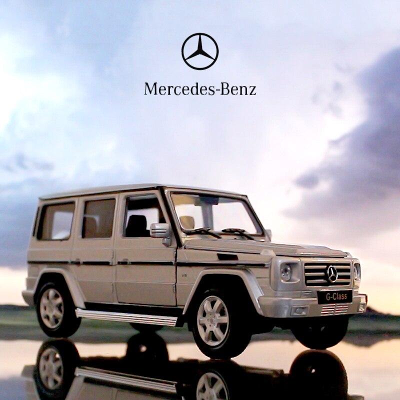 1:24 Welly Mercedes Benz G-Class G55 G500 Diecast Metal Model Car Black