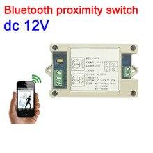Interruptor de proximidad DC 12V Bluetooth para teléfono móvil, controlador Bluetooth, interruptor de acceso/lámpara/control de luz