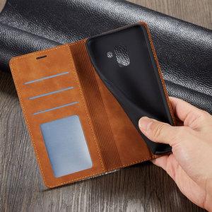 Image 4 - โทรศัพท์หนัง Flip สำหรับ Samsung Galaxy A8 2018 Magnetic กระเป๋าสตางค์การ์ด GalaxyA8 SM A530 A530F SM A530F ขาตั้ง