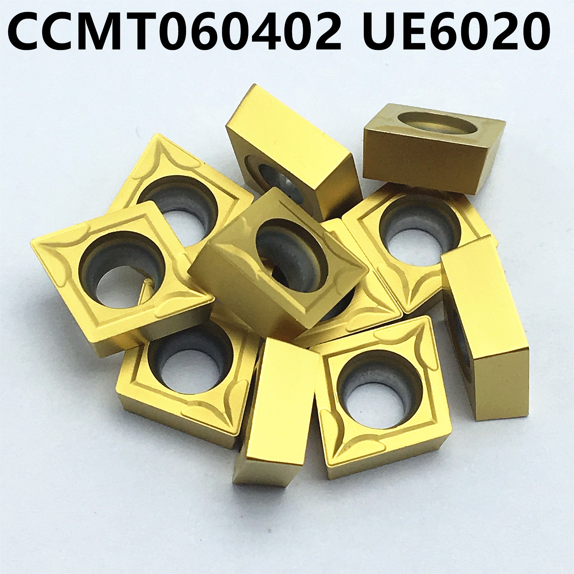 CCMT060204 UE6020 CCMT060204 US735 CCMT060204 VP15TF Cutting External Turning Tool Milling Tool Carbide Alloy Lathe Milling Cutt