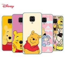 Siliconen Cover Winnie De Pooh Voor Xiaomi Redmi Note 10 10S 9 9S Pro Max 9T 8T 8 7 6 5 Pro 5A Telefoon Case