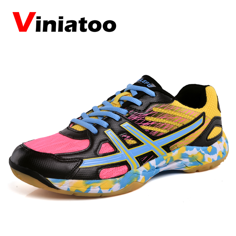 Lightweight Badminton Sneakers Womens Kids Spring Professional Training Badimnton Shoes Ladies Athletic Volleyball Shoes Men