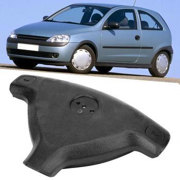 Samochód czarny kierownicy pokrywa 90437285 pasuje do Vauxhall Opel Astra G 1998 1999 2000 2001 2002 2003 2004 jakości materiału tanie i dobre opinie VGEBY 199180 Black Steering Wheel Cover 21cm 222g Plastic 29cm FRONT