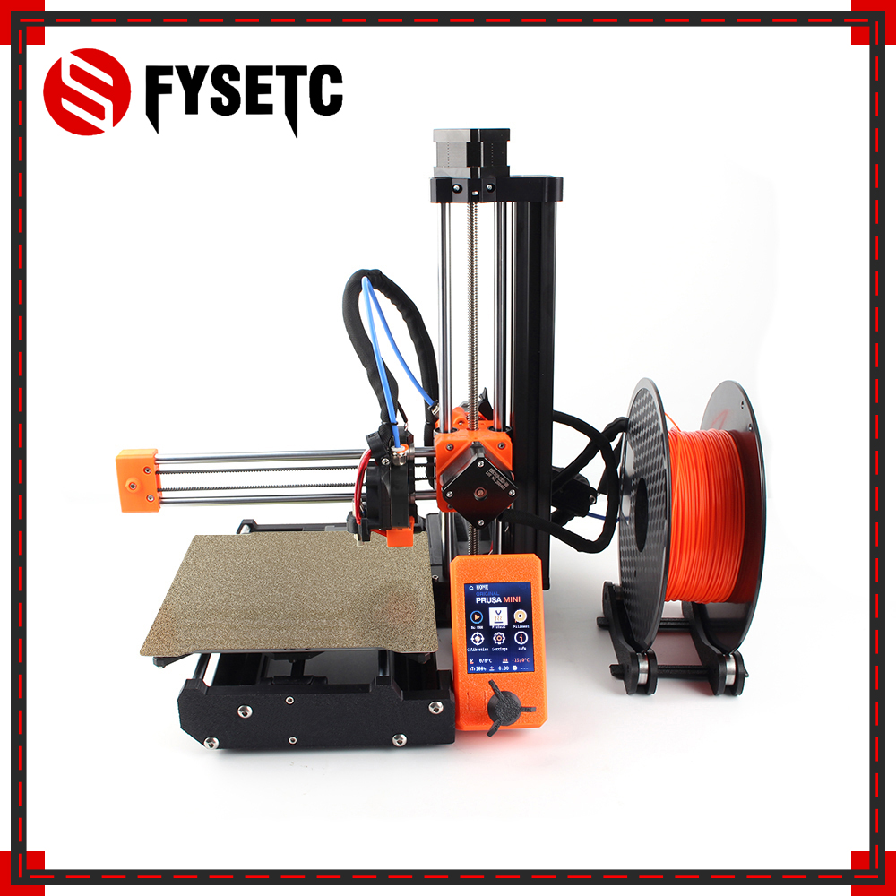 Clone Original Prusa Mini 3d printer DIY full kit and MW power PETG PLA Upgrade (Not assembly) Does not include printed parts|3D Printers| - AliExpress