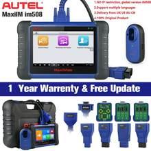 Autel maxim im508 programador chave do carro immo serviço & obd2 ferramenta de diagnóstico atualização de auro otosys im100