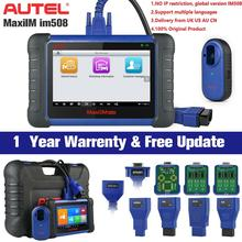Autel MaxiIM IM508 araç anahtarı programlayıcı IMMO servis ve OBD2 teşhis aracı yükseltme Auro OtoSys IM100