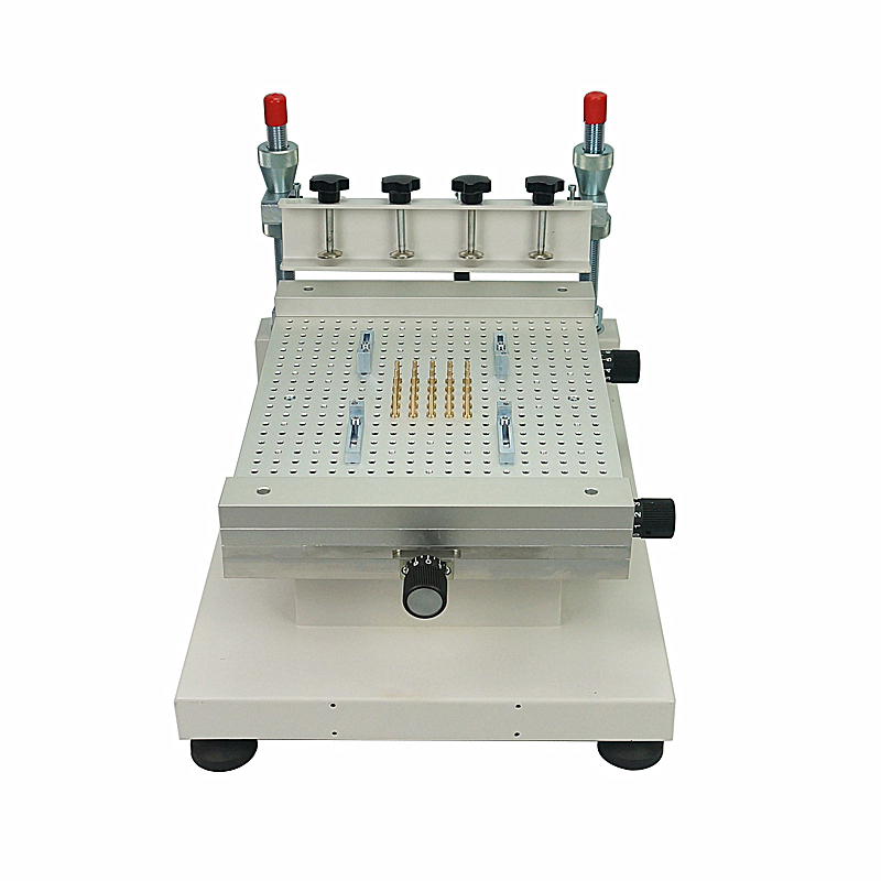 Solder Paste Printer Silkscreen Printing Machine High Precision SMT Screen Printer Single Double-sided Circuit Board Paste