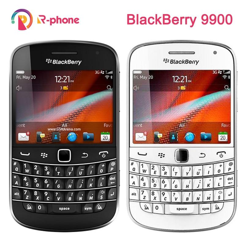 Оригинальный BlackBerry Bold Touch 9900 отремонтированный разблокированный мобильный телефон 5MP 3G WIFI Bluetooth смартфон