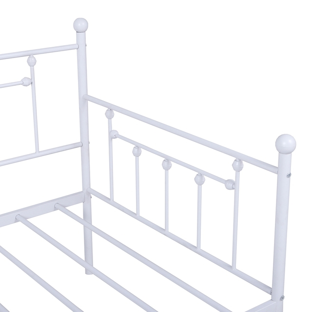 Daybed Sofa Steel Bed Frame With Trundle  4