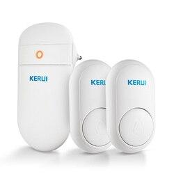 KERUI M518 беспроводной дверной звонок самостоятельное поколение электроэнергии Домашняя безопасность Добро пожаловать умные колокольчики дв...