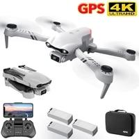 2021 nuovo F10 Drone Gps 4K 5G WiFi Live Video FPV Quadrotor Flight 25 minuti Rc distanza 2000m Drone HD grandangolare Dual Camer