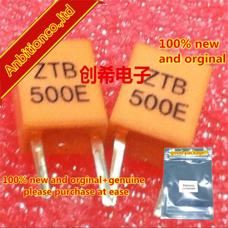 20pcs 100% New Original Ceramic Crystal ZTB500E (with Remote Control) 500E 500k 500KHZ Straight Plug