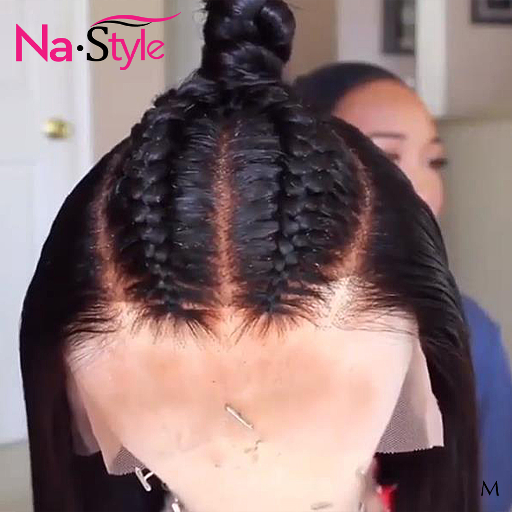 HD Lace Frontal Wig Pre Plucked Transparent Lace Wigs Bleached Knots  360 Frontal Short Bob Pixie Cut Wig Natural 130 Remy