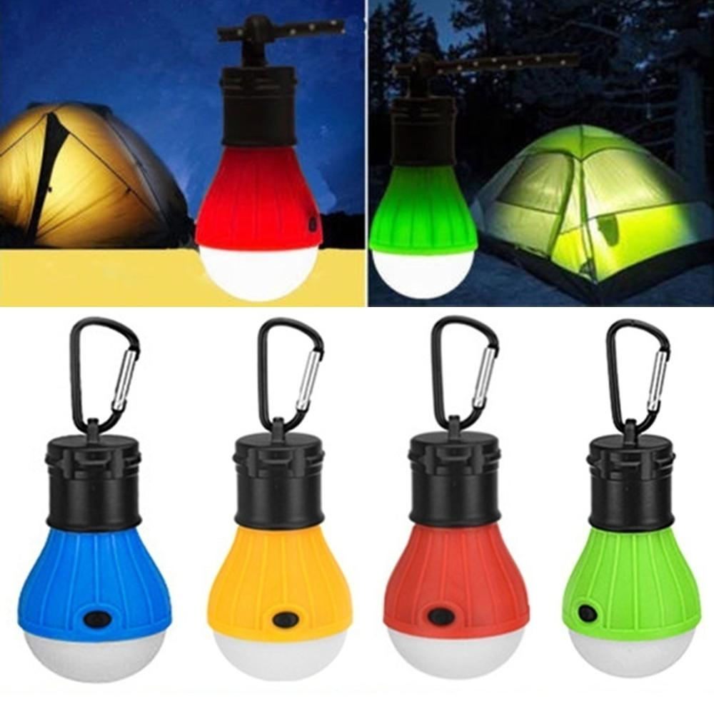 Outdoor Portable LED Camping Hanging Light Tent Fishing Lantern Lamp Emergency Lamp Accessories