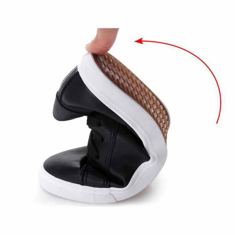 Cổ Giày Người Phụ Nữ Mùa Hè Buộc Dây Huấn Luyện Viên Thời Trang Giày Mũi Tròn Giày Nữ Vulcanize Giày Trắng Giày Nữ Giày Nữ