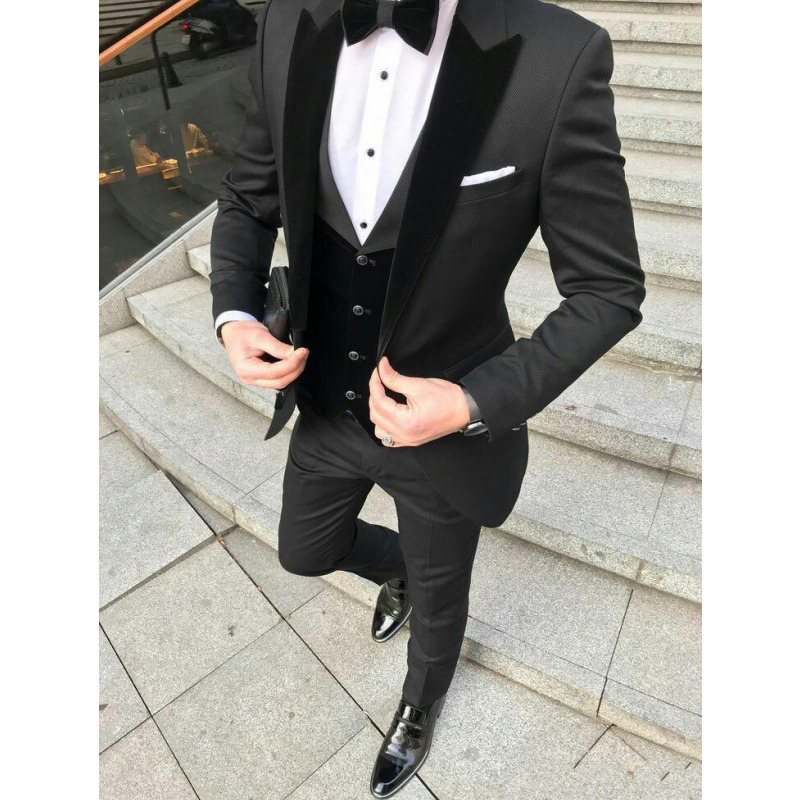 Slim-Fit-Mens-Suits-for-Wedding-Prom-Party-with-Black-Velvet-Lapel-Groom-Tuxedos-3-Piece (1)