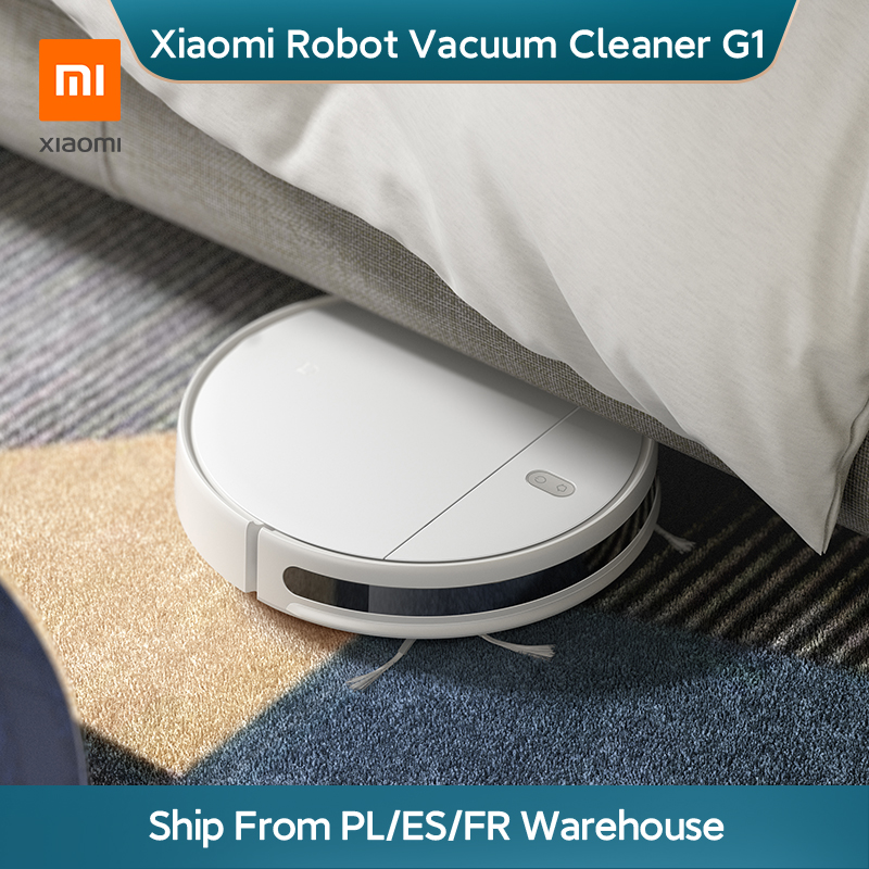 Xiaomi Mi Robot Vacuum Cleaner G1 Mop Essential for Home Smart Wireless Sweeping Cleaning Electric Mop MIJIA Carpet Dust