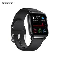 SENBONO IP68 Wasserdichte Intelligente Uhr SN87 Armband Männer Frauen APP Karte GPS Sport Uhr Herz Rate Schlaf Monitor Smartwatch Tracker