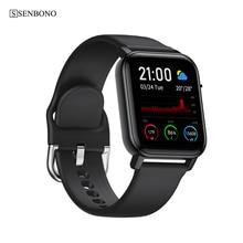 SENBONO IP68 Waterproof Smart Watch SN87 Wristband Men Women APP Map GPS Sport Clock Heart Rate Sleep Monitor Smartwatch Tracker