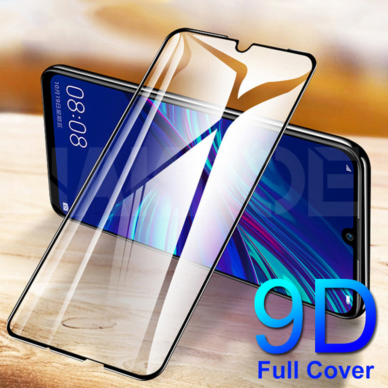 9D Tempered Glass For Huawei Honor 8 9 10 20 Lite Screen Protector Honor 8X 9X V30 V20 V10 Safety Protective Glass Film Case