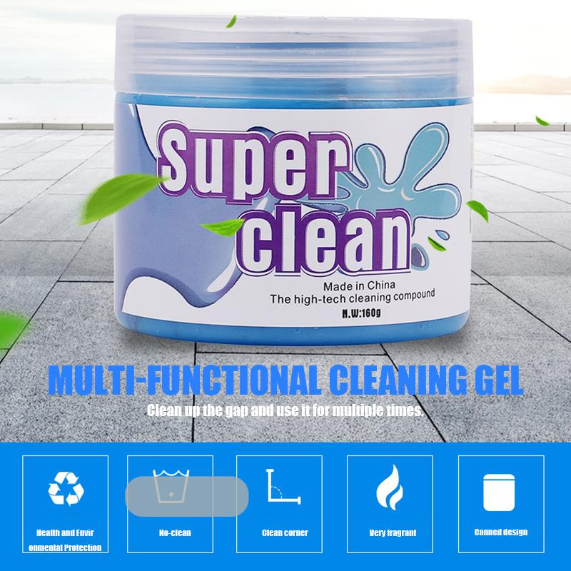 AOZBZ Car Cleaning Glue Laptop PC Computer Keyboard Slime Jelly Gel Compound Dust Wiper Cleaner Car Interior Car Accessories