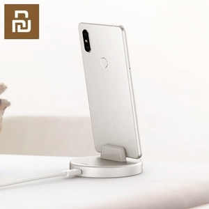 Image 2 - Беспроводная подставка для телефона Youpin Panki, зарядное устройство Type C 18 Вт, быстрая Беспроводная зарядка для Samsung Huawei Xiomi, держатель для быстрой зарядки