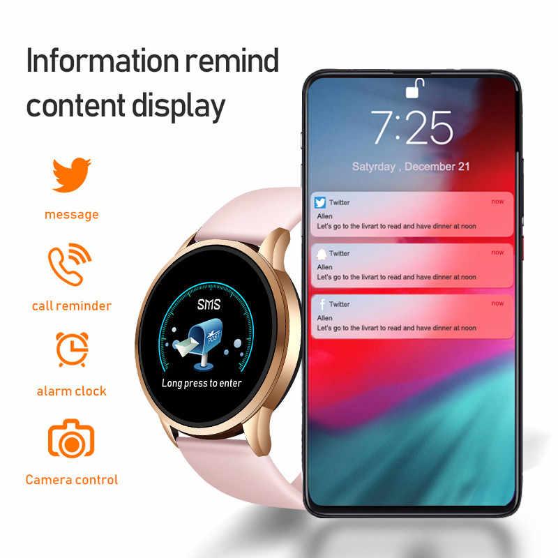 ליגע 2020 חדש חכם שעון לחץ דם חמצן כושר צמיד שעון קצב לב צג IP67 גברים נשים ספורט Smartwatch + תיבה