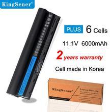 KingSener Batería de ordenador portátil para DELL Latitude E6320 E6330 E6220 E6230 E6120 FRR0G KJ321 K4CP5 J79X4 7FF1K, 11,1 V, 6000mAh