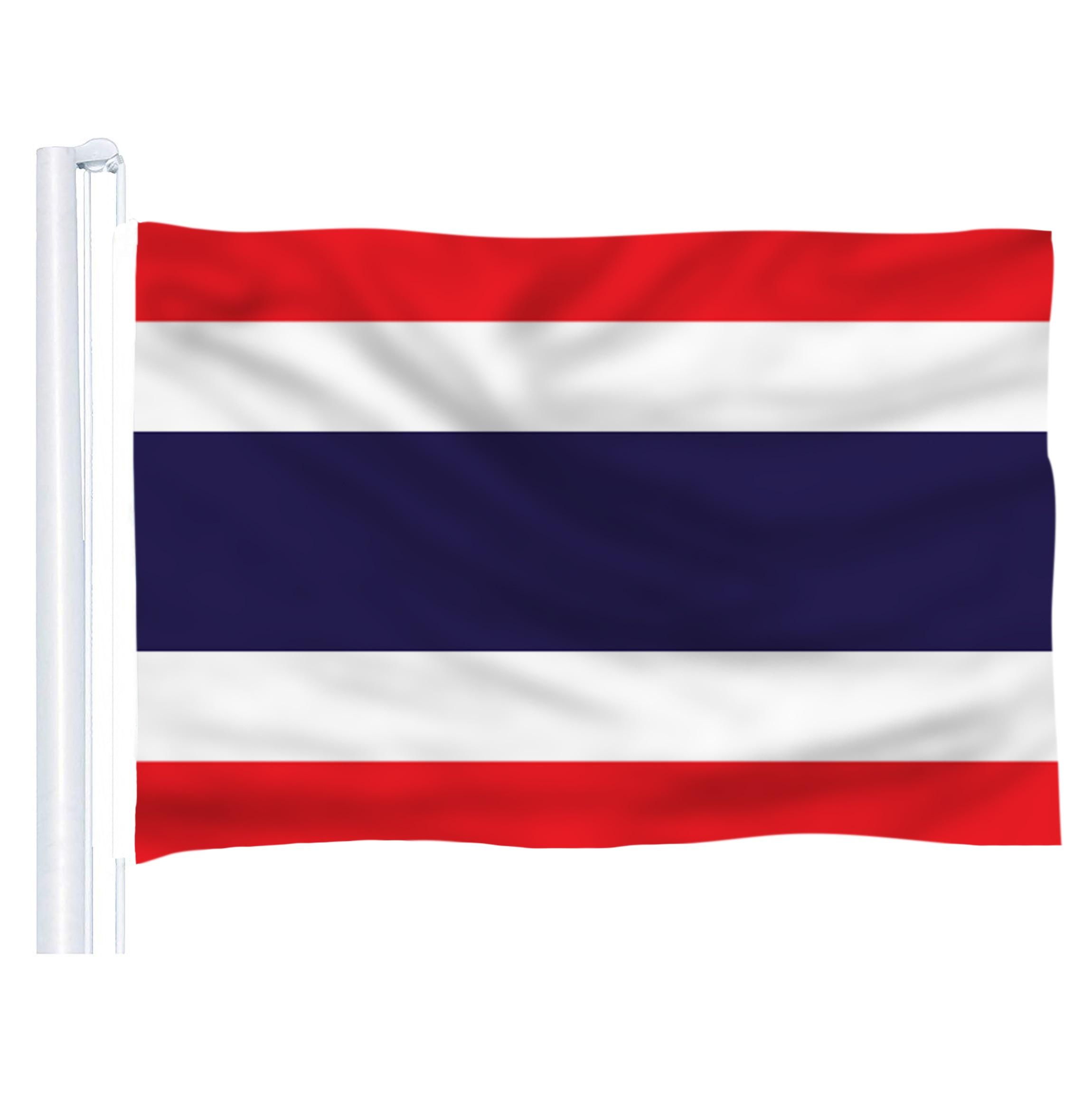 Thailand Polyester Table Desk Flag