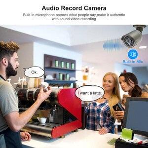 Image 3 - Techage H.265 8CH 1080P HDMI POE NVR Kit CCTV Security System 2.0MP IR Outdoor Audio Record IP Camera P2P Video Surveillance Set