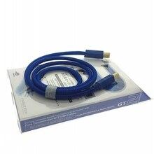 Furutech OCC נחושת GT2 USB כבל אודיו USB 2.0 USB B A B כסף מצופה Vinshle HIFI