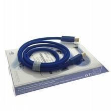 Furutech occ gt2 cabo usb de cobre áudio usb 2.0 USB B A B prata chapeado vinshle alta fidelidade