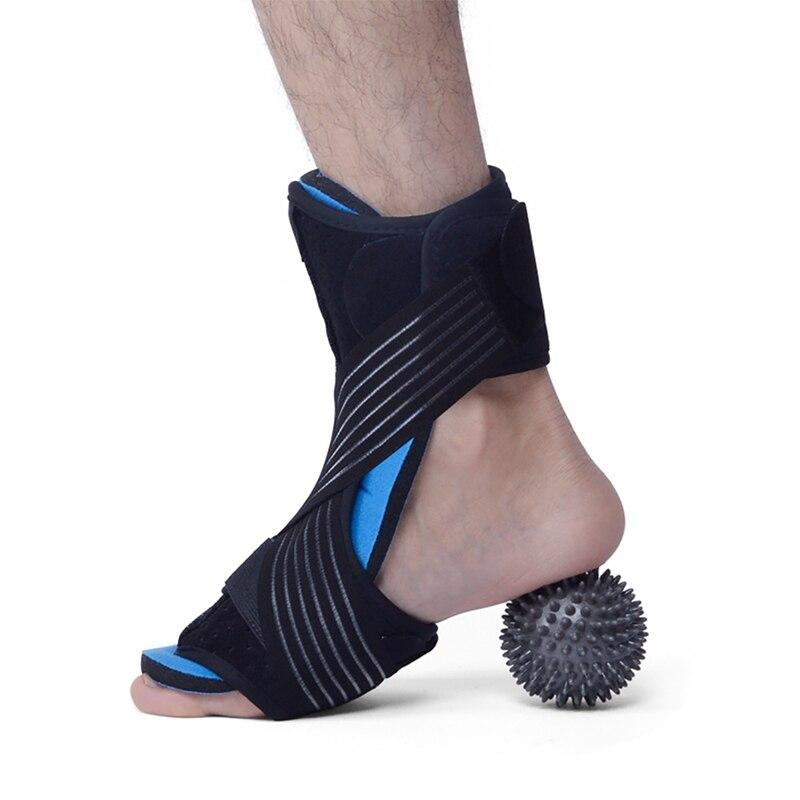 Apoio para os Pés com Bola Envoltório de Fitness Massageador Compressão Ajustável Corrector Protetor Guarda Sportswear .. Mat