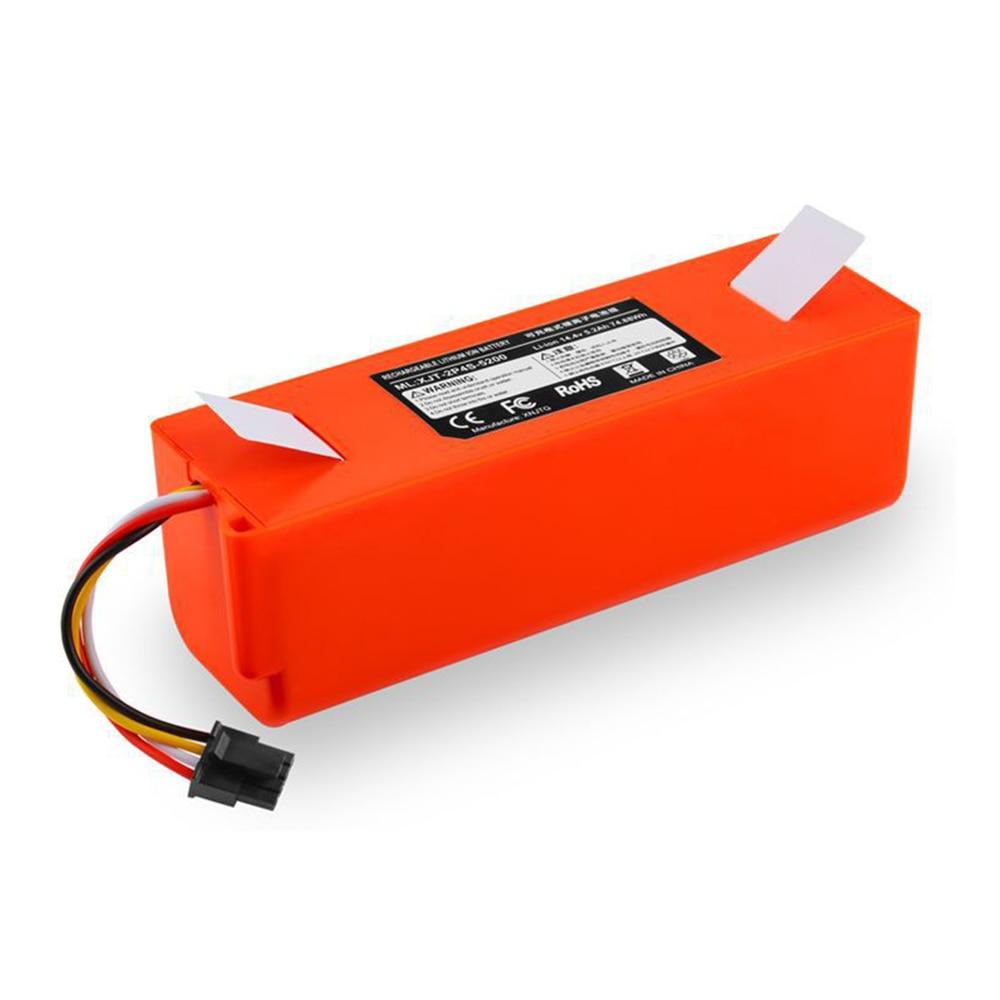 5200mAh / 6500mah Battery For Xiaomi Mi Robot Vacuum Cleaner Parts For Xiaomi Accessories Roborock S50 S51