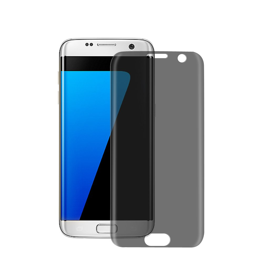 Privacy Filter 3D Tempered Glass Full Coverage Film AntiSpy Protection Shield Screen Protector for samsung galaxy S7 edge image