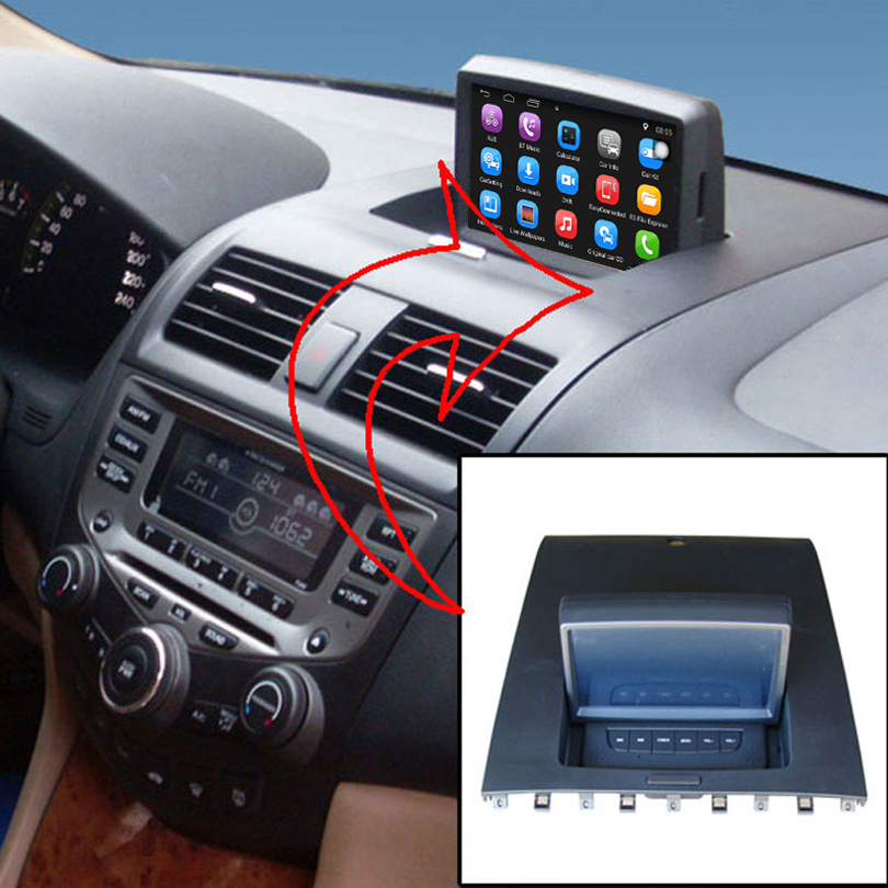 7 inch Android 7.1 Car GPS Navigation for Honda Accord 2003-2007 Car Radio Video Player Support WiFi mobile phone Mirror-link image