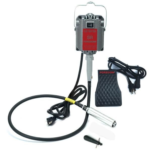 Foredom SR machine à arbre flexible, moteur de polissage dentaire, machine à arbre flexible, montre gravure brunissage meulage kit d'outils rotatifs