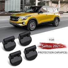 Lfotpp ajustável assento slide bolt capa para seltos 2021/celltos 2019 2020 tampa de parafuso do assento dianteiro interior do carro estilo suprimentos