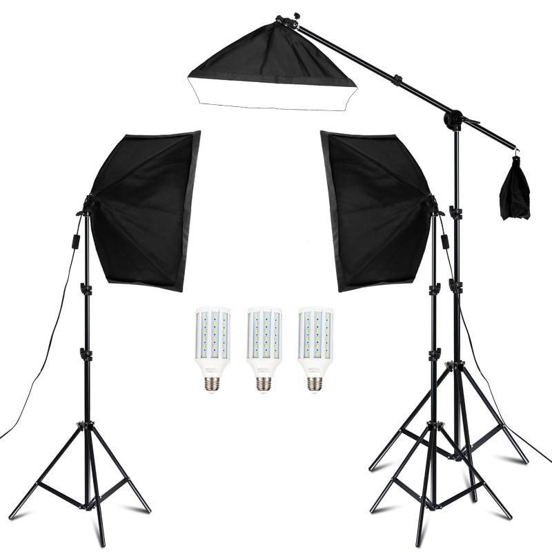 20w Photography Studio Lighting Kit Arm