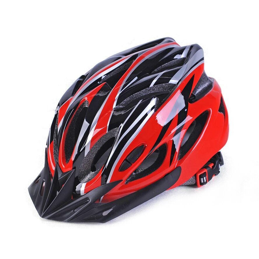 Bicycle Helmet Riding Equipment Helmet Multi-Color Men'S Riding Helmet Integrated-Mold Lightweight Breathable Men Mountain Bike